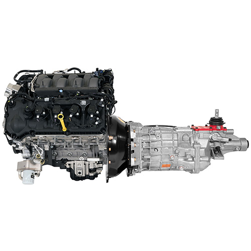 Gen 3 5 0l Coyote Power Module With 6 Speed Manual Transmission Part Details For M 9000 Pmcm3 Ford Performance Parts