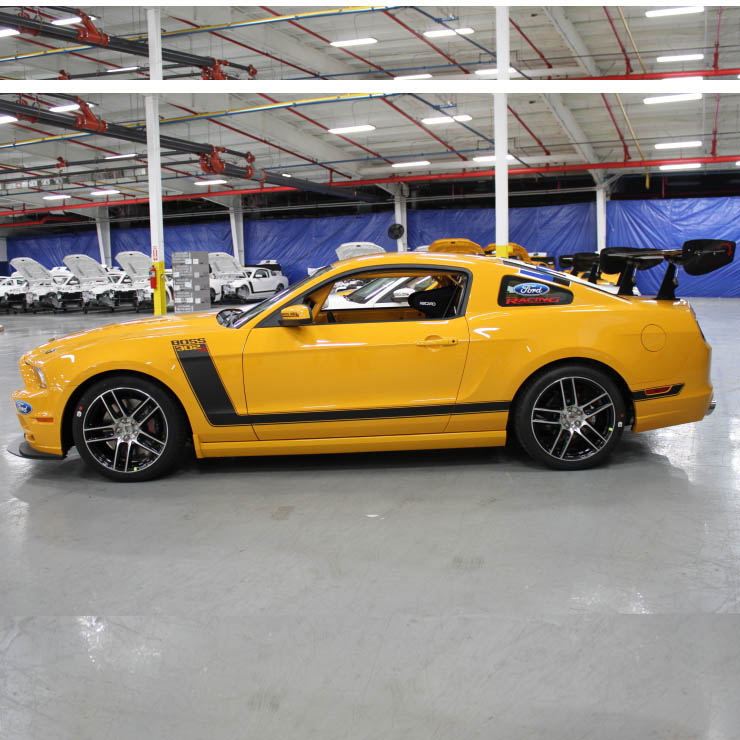 2012 MUSTANG BOSS 302S - COMPETITION ORANGE
