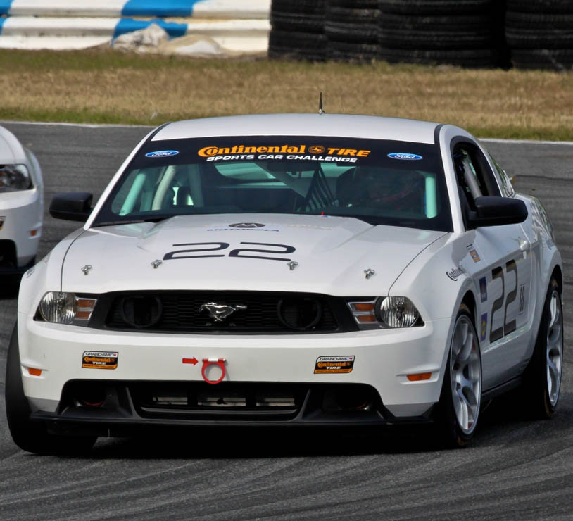 2014 MUSTANG BOSS 302R - GRAND-AM CONTINENTAL TIRE SPORTS CAR CHALLENGE