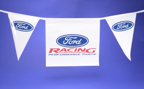 """FORD RACING"" 50-FT. PENNANT STRING"