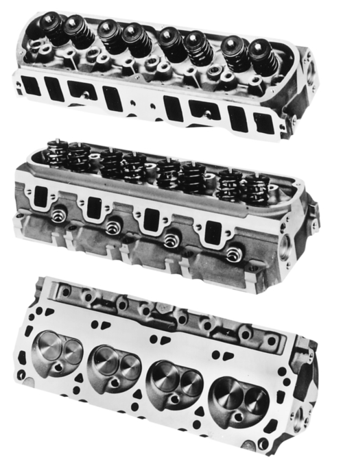 "GT-40X  XTRA PERFORMANCE ""TURBO-SWIRL"" ALUMINUM CYLINDER HEADS"
