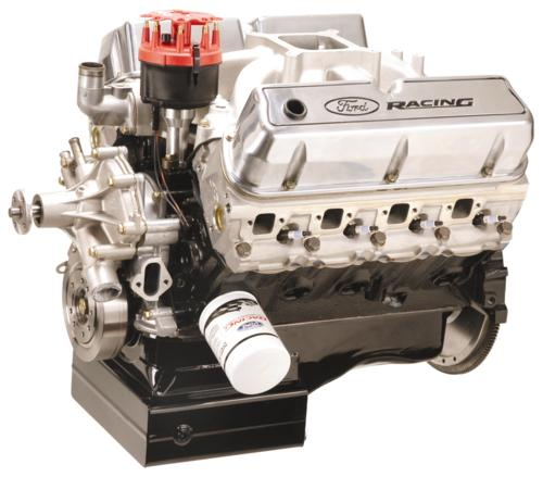 5.8L/351 - 385HP GT-40 ALUMINUM HEAD FORD RACING PERFORMANCE CRATE ENGINE ASSEMBLY