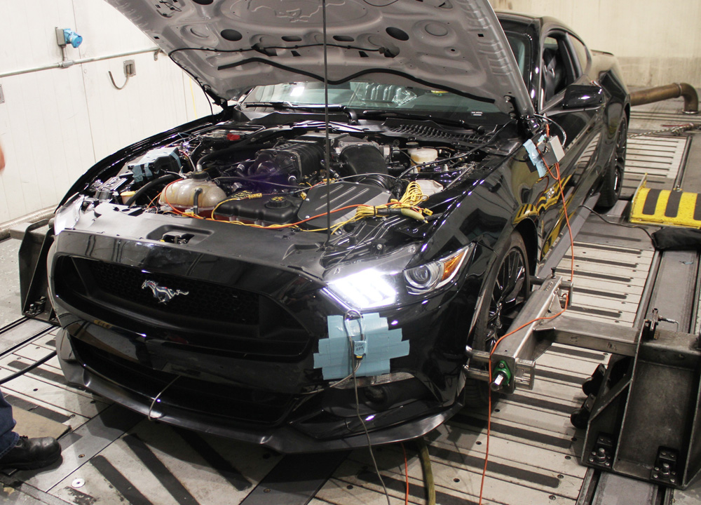 2015 mustang gt supercharger developed by ford performance. Black Bedroom Furniture Sets. Home Design Ideas